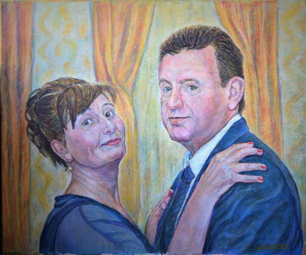 Двоен портрет
