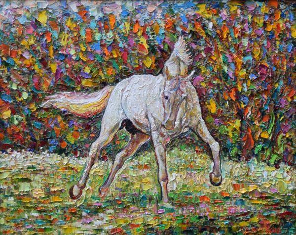 Белият кон