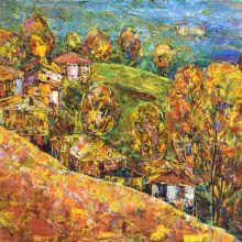 Есен на село