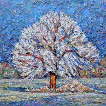 Снежно дърво