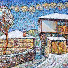 Зима в с. Ковачевица
