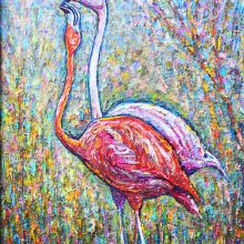Двойка фламинги