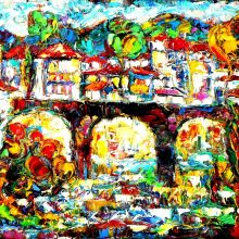 Марковият мост - град Троян