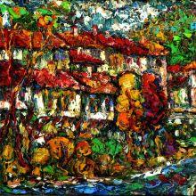 Стари къщи - град Троян