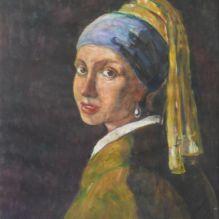 Момиче с перлена обеца