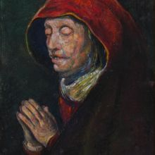 Портрет на стара жена