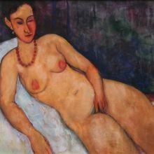 Полулегнала гола жена