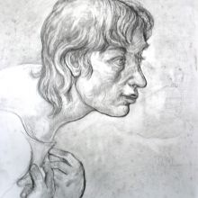 Глава на момче