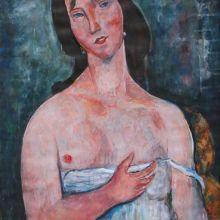 Млада гола жена