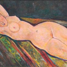 Легнала гола жена