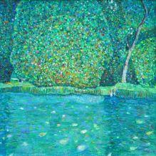 Езерце в замъка Камер