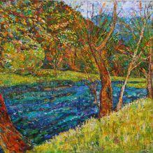 Дървета край реката