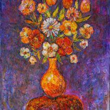 Ваза с цветя