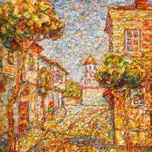 Уличка в стария Пловдив