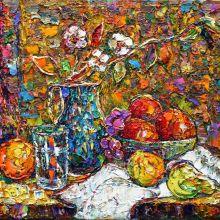 Натюрморт с плодове